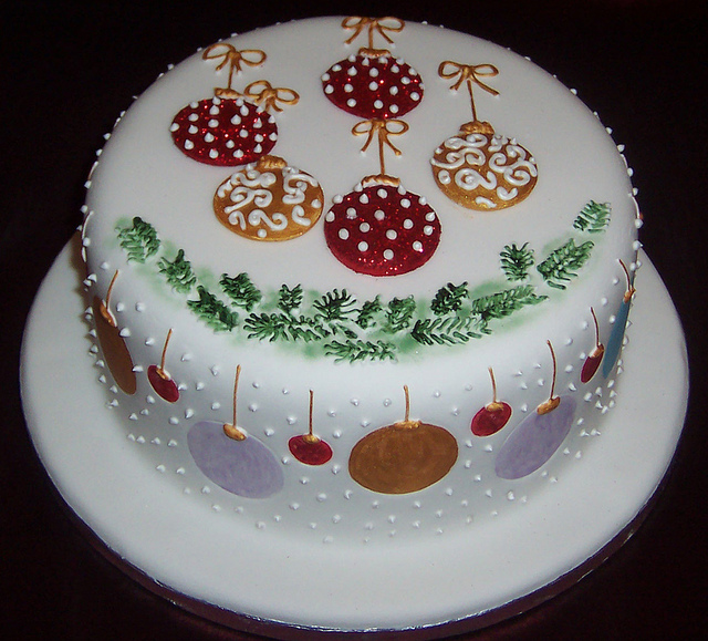 Modern Christmas Cake Decorating Ideas : Torturi de Cr?ciun. Cea mai simpl? re?et? posibil? ...