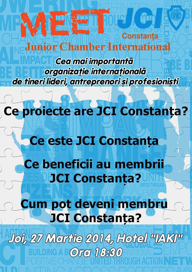 eveniment, constanta, MEET JCI Constanta