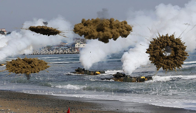armata, exercitiu militar, sua, coreea de sud