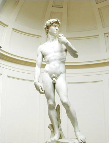 STATUIA LUI DAVID - Michelangelo di Lodovico Buonarroti Simoni