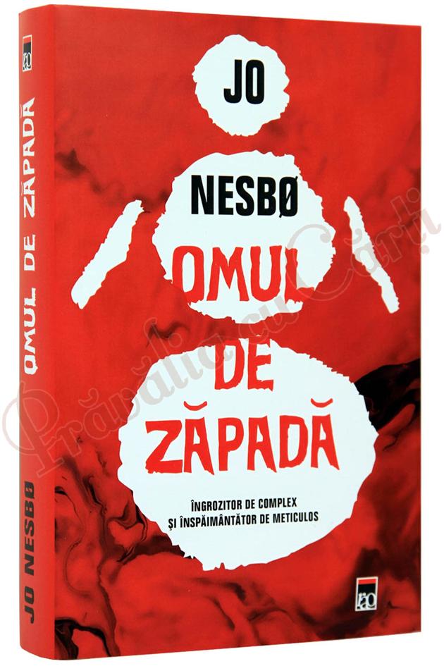 Omul de zapada, Jo Nesbo, carte, literatura
