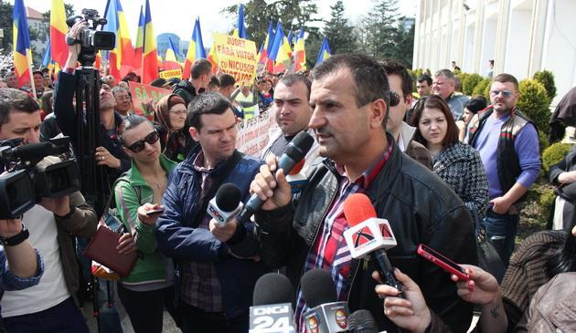 protest vrabie, liberali, consiliul judetean, pestera