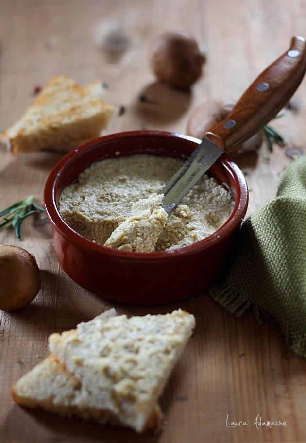 lauraadamache.ro, pate de ciuperci, aperitiv