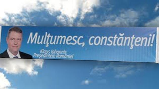 Votat de 57,04% dintre tomitani: Mesaj deosebit de la presedintele Klaus Iohannis pentru constanteni