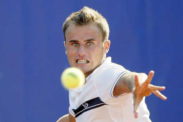 Marius Copil - 2018 Light Brown hair & chic hair style. Current length:  short hair