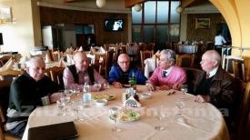 Maestrul Vasile Moldoveanu, la întâlnire cu foştii colegi  (galerie foto)