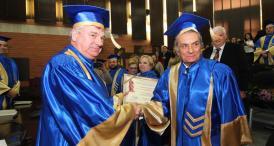 """Doctor Honoris Causa al Universităţii """"Ovidius"""": Vasile Moldoveanu - """"Îi îndemn pe tineri să înveţe şi să ajungă oameni de valoare"""" (galerie foto + video)"""