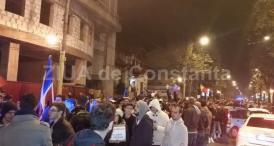 Proteste faţă de proiectele privind graţierea şi Codul penal, în perioada 19 - 31 ianuarie, în faţa Prefecturii Constanţa