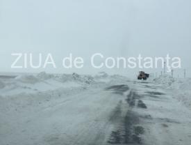 Constanța. Drumuri județene închise sau cu probleme de circulație
