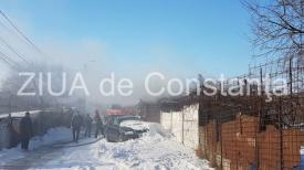 UPDATE. Alertă la ISU Dobrogea. Incendiu în Constanţa (galerie foto+video)