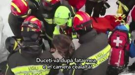 Avalanșă în Italia Românca şi cei doi copii ai ei au fost găsiţi în viaţă