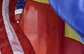 Ambasadorul Hans Klemm s-a întâlnit cu ministrul Afacerilor Externe, Teodor Meleşcanu