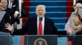 Cât de scurt a fost discursul lui Donald Trump în comparație cu a celorlalți preşedinţi SUA