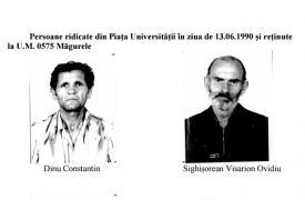 Se solicită sprijin pentru identificareea mai multor persoane implicate în Mineriada 1990
