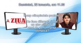 Încep olimpiadele şcolare! Ce face diferenţa între un elev silitor şi unul de performanţă olimpică?