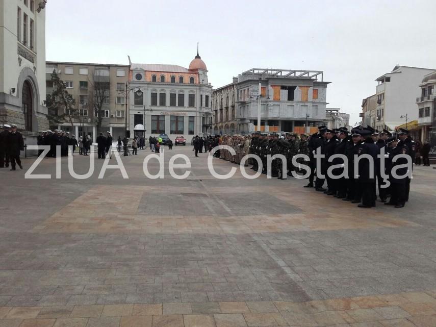 UPDATE: Ziua Unirii, marcata in Piata Ovidiu (galerie foto+video)