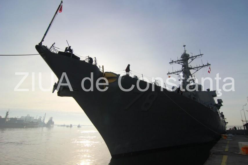 mai multe nave militare au intrat in portul constanta vezi ce se intampla 622527