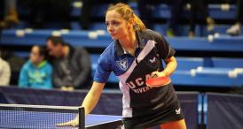Iulia Necula, din Constanţa, inclusă în echipa Federaţiei Internaţionale de Tenis de Masă