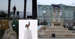 Şerpi, vulturi, lei, delfini. Statui ce reprezintă animale şi frumuseţea lor în judeţul Constanţa. Unde le putem admira (galerie foto)