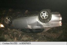 Accident violent pe DN 6. A decedat un biciclist