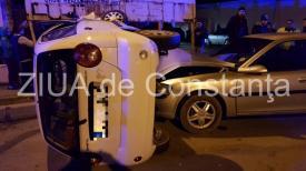 UPDATE Accident rutier la 23 August. O mamă şi doi copii, răniţi (galerie foto + video)