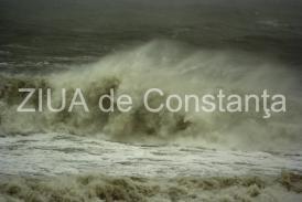 Avertisment de la ISU! Va fi furtună pe Marea Neagră