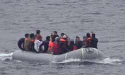 Peste 50 de persoane salvate de poliţiştii de frontieră constănţeni aflaţi în misiune pe Marea Egee