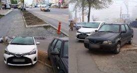 """Din ciclul """"Cum se mai parchează în Constanţa"""" (galerie foto)"""
