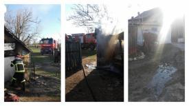 UPDATE. Intervenţie de urgenţă în Tichileşti în cazul unui incendiu. Sunt butelii în interior! (galerie foto)