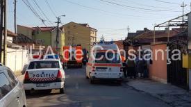 UPDATE. Incendiu în Constanţa, pe strada Delfinului (galerie foto+video)
