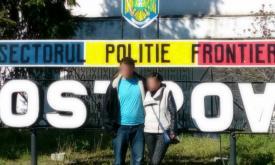 Un bulgar şi o ucraineană, soţ şi soţie, duşi la sediul Sectorului Poliției de Frontieră Ostrov