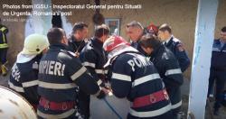UPDATE Misiune contracronometru a pompierilor pentru salvarea unui copil căzut în fântână
