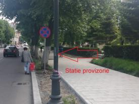 Anunţ important de la RATC O staţie de autobuz din Constanţa se mută provizoriu