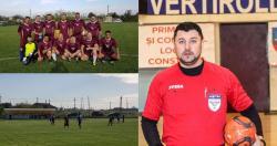 """Cătălin Toader - """"Fotbalul, o bucurie"""" Poliţişti şi jandarmi, printre jucătorii echipei Voinţa Săcele, din Liga Old-Boys"""