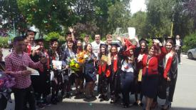 Ultimul clopoţel pentru absolvenţii Colegiului Agricol Poarta Albă