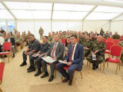 Prefectul Ioan Albu a participat la Ziua Distinşilor Vizitatori, la baza militară de la Mihail Kogălniceanu