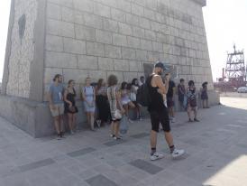 Vizită de documentare în Portul Constanța. 20 de studenți străini au aflat despre istoria portului Constanța
