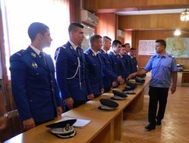 """Ceremonia de numire în funcţie a celor 15 jandarmi ai Academiei de Poliţie """"Alexandru Ioan Cuza"""" (galerie foto)"""