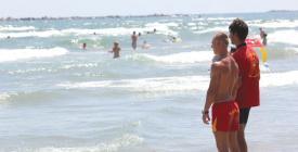Înec pe plaja Princess, din Mamaia (video)