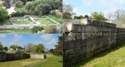Zidurile Cetăţii Callatis au rezistat unui asediu care a durat mai mult de trei ani (galerie foto)