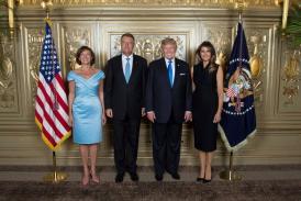 Președintele Klaus Iohannis s-a întâlnit cu Donald Trump