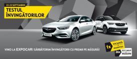 Test drive cu premii la Opel Expocar, 22-23 septembrie!
