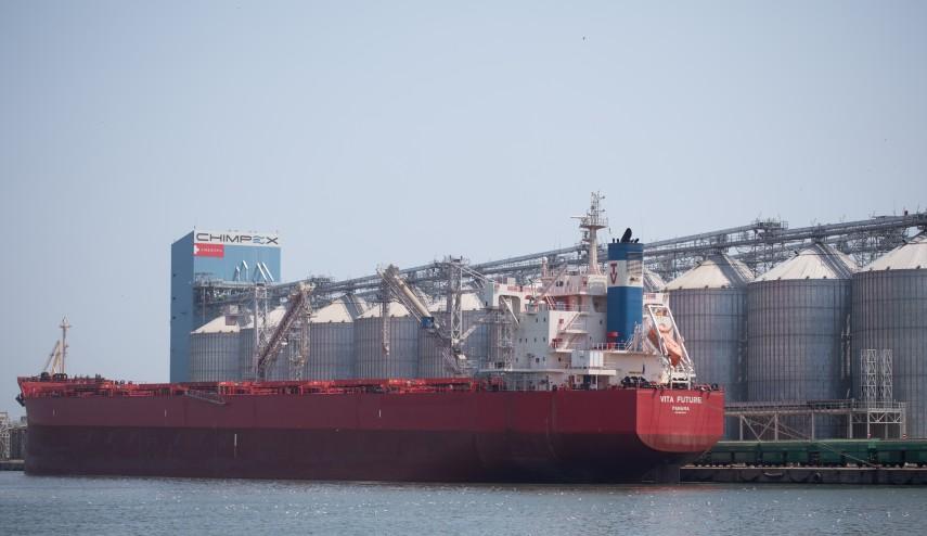 Chimpex a finalizat noul terminal de cereale cu o capacitate  de stocare de 200.000 tone