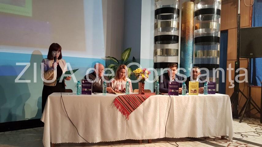 LIVE TEXT Imagini de la eveniment prof. dr. Adrian Ilie lanseaza doua carti dedicate Medgidiei (galerie foto)