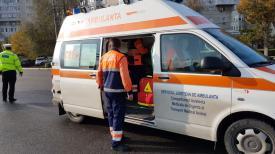 UPDATE. Accident rutier la Medgidia. Un copil de 7 ani a fost rănit și a ajuns la spital