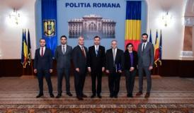 Inspectorul General al Poliţiei Române s-a întâlnit astăzi cu ataşaţii Serviciului Secret al SUA în România