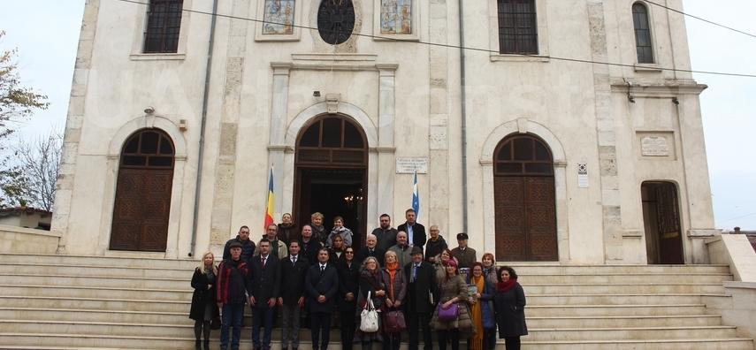 Punte peste timp: Autoritatile locale, istorici si profesori, alaturi de ZIUA de Constanta, la pas prin orasul incarcat de istorie (galerie foto)