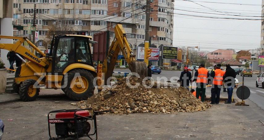 RADET Constanţa. Două zone din municipiul Constanţa au rămas fără apă caldă şi căldură din cauza unor avarii RAJA şi CET