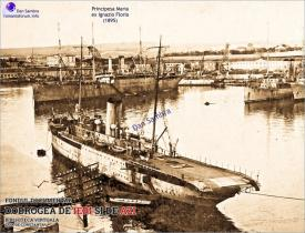 1917 Pasagerul Principesa Maria la Sevastopol