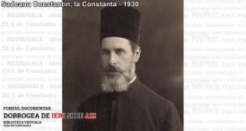1930 Preotul militar Constantin Sadeanu la Constanţa 1930